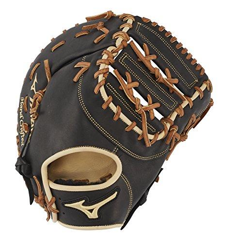 - Mizuno GPS1BK-300FBM Pro Select Baseball First Base Mitts, 12.5