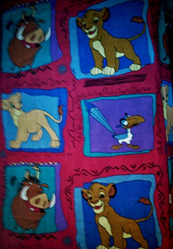 Lion King Twin Sheet 66 Inches Wide 96 Inches Long