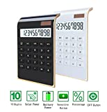 Dual Power Handheld Calculator Large Display Big Button 2pack
