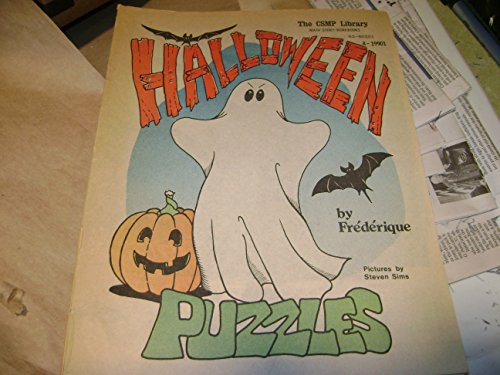Halloween Puzzles (Math Story Workbooks)
