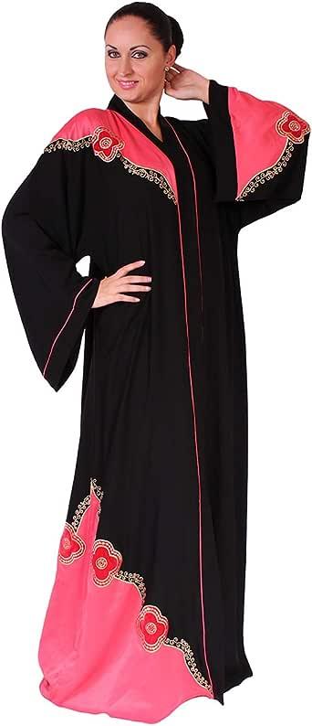 Arabeska Black Casual Abaya For Women