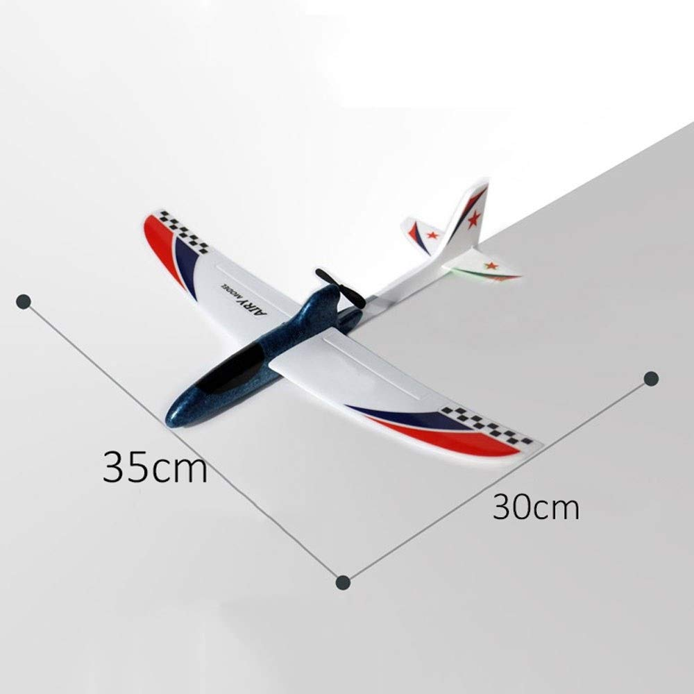 Kikioo Greatest PAK Hand Launch Glider Planes Airplane, Flying Glider Planes Throwing Foam Airplane Inertia Durable Aircraft Model For Children Boy Girl Home Decoration Collection Outdoor Sport Flying by Kikioo (Image #4)