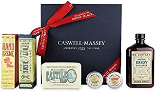 product image for Caswell-Massey Dr. Hunter's Gift Set – Includes Body Cleanser, Castile Soap, Rosewater and Glycerine Hand Creme, Foot Creme and Lip Salve