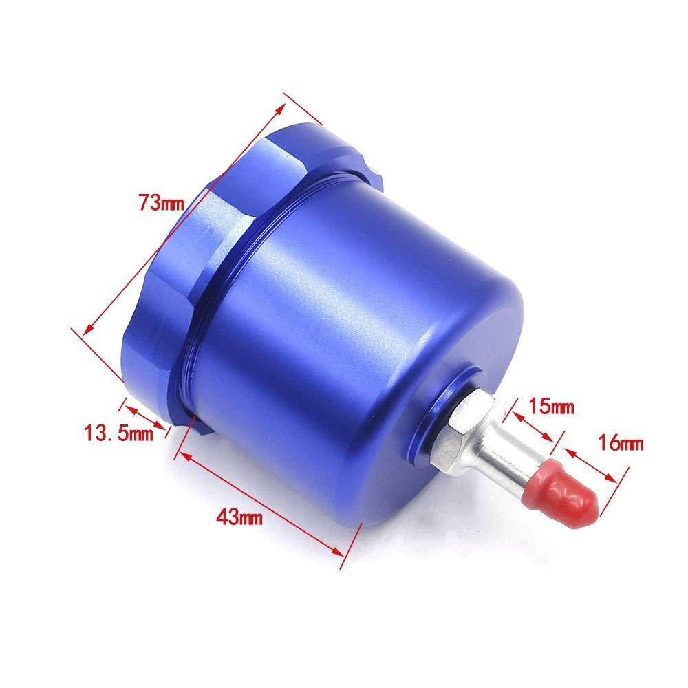 DONXIANFENG Freno de mano hidr/áulico deriva del tanque de aceite for el embalse de E-freno de la tapa del freno de mano de l/íquido de freno de mano Color : Blue