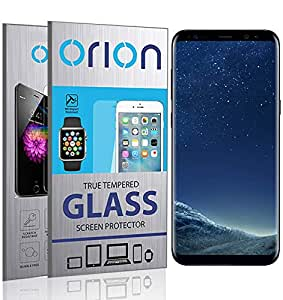 Orion 3D Curved Tempered Glass Screen Protector For Samsung Galaxy S8 - Black