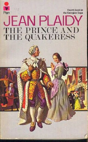 book cover of The Prince and the Quakeress