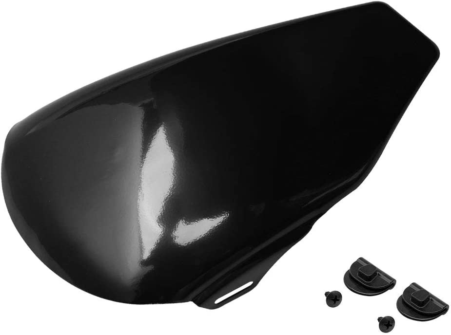 H-Ruo Black Left Side Battery Cover for Harley Sportster XL 883 1200 2004-2013