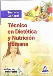 Temario General - Tecnico En Dietetica Y Nutricion Humana