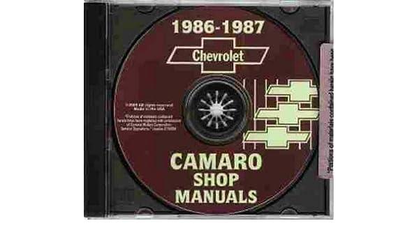 1987 camaro z28 rear end specs