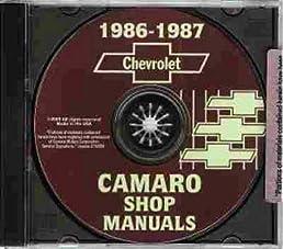 1986 1987 chevrolet camaro 2 vol factory repair shop service rh amazon com 1985 Camaro 1988 Camaro