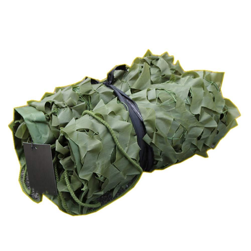 A 2x5m CHAOXIANG Filet De Camouflage Camping 210D Tissu Oxford Crème Solaire Ombre Vert Multi-Taille, Personnalisable (Couleur   A, Taille   4x7m)