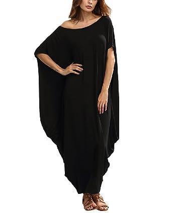 Tunique Robe Grande Soiree Ceremonie Asymétrique Taille Femme Epaule 9H2EIWYD