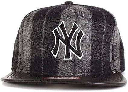 NY New Era 9Fifty-Gorra con visera plana, diseño con texto
