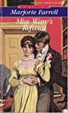 Miss Ware's Refusal, Marjorie Farrell, 0451164725