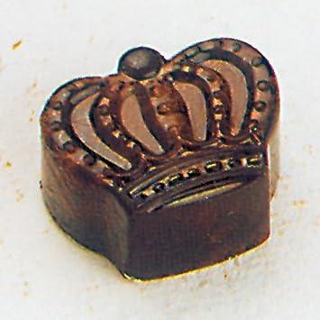 Molde para Bombones con Forma de Corona Real.