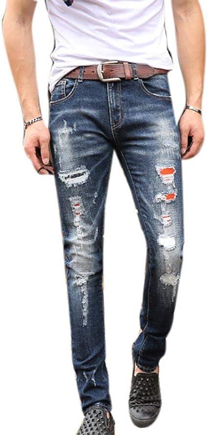 Hombres Hombres Lápiz Completa De Nge Negocios Pantalones De ...