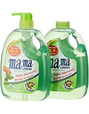 Mama Lemon Dishwashing Liquid, Anti-bacterial