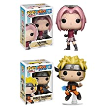 Funko POP! Naruto: Sakura + Naruto (Rasengan) - Anime Vinyl Figure Set NEW