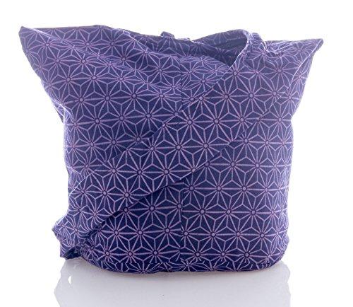 Geometry Sling Crossbody Cotton Blue Purse Pueple Hobo Messenger Bag Hippie Avarada Thai Bohemian XIxAvv