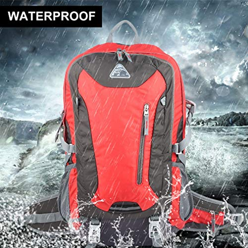 YTYC Waterproof Mountaineering Backpack Breathable Back Support Large Capacity Bag by YTYC (Image #6)
