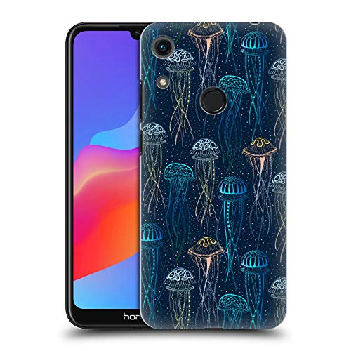 Official Julia Badeeva Jellyfish Animal Patterns 2 Hard Back Case Compatible for Huawei Honor 8A