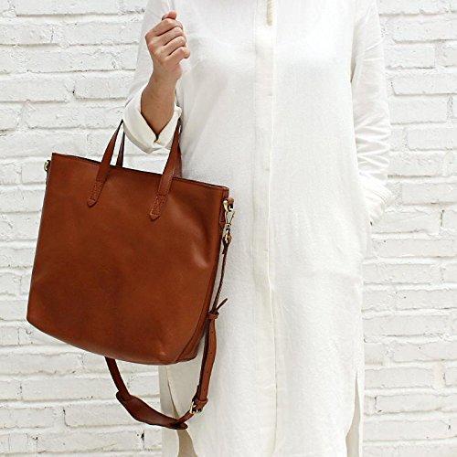 Handmade Women's Fashion Leather Tote Bag Shoulder Bag Crossbody Bag Shopper Bag
