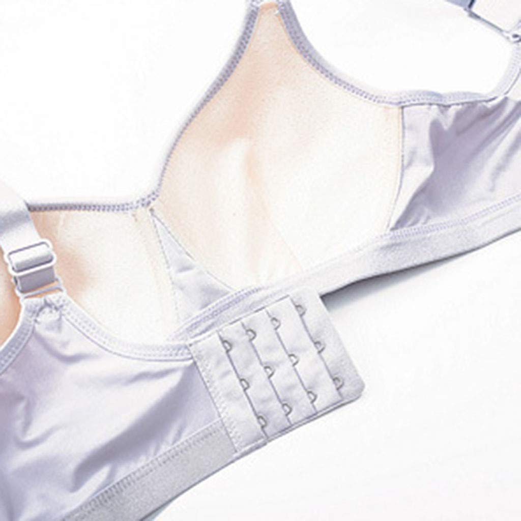 KLFGJ Women Soprt Seamless Lingeries Plus Size Untied Underwear Wireless Sport Thin Bra Full Cup Bras