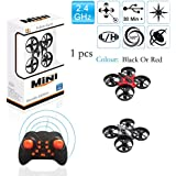 Best Selling Mini Drone - remote drone for kids, 2.4GHz 6-Axis Gyro And 100 Ft Distance 10 Function Remote Key, Led Rainbow Lights, Return Home Function, 360° Gyre Mod Beginners Drone