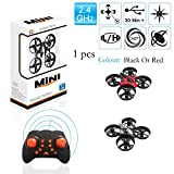 Drone For Beginners Drones For Kids, 2.4GHz 6-Axis Gyro Remote Control Nano Drone For Kids Adults Beginners - Headless Mode, 3d Flip, One Key Return