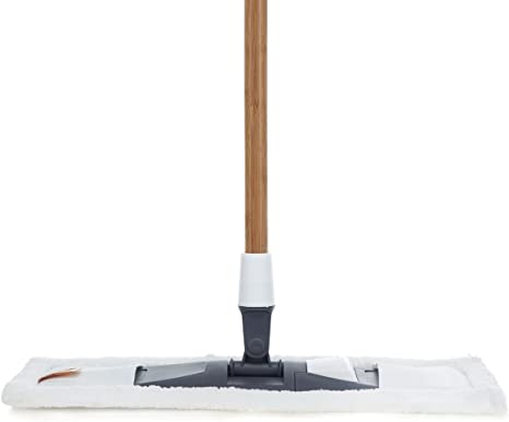 Amazon Com Full Circle Mighty Mop 2 In 1 Wet Dry Microfiber Head White Home Kitchen