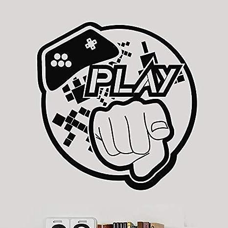 Gamepad Adhesivo de videojuegos Juegue Sala de juegos ...
