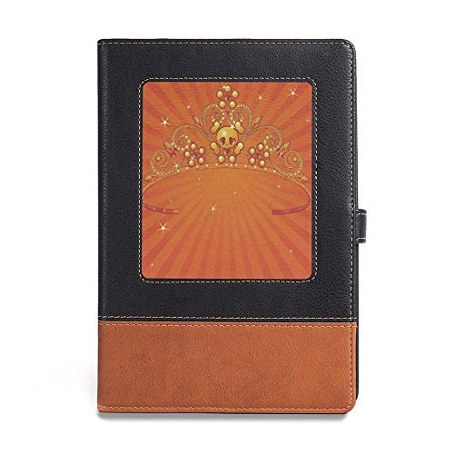 Travel Journal Diary noteBook,Queen,A5(6.1