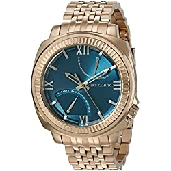 Vince Camuto Men's VC/1002SBRG The Veteran Multi-Function Dial Rose Gold-Tone Bracelet Watch