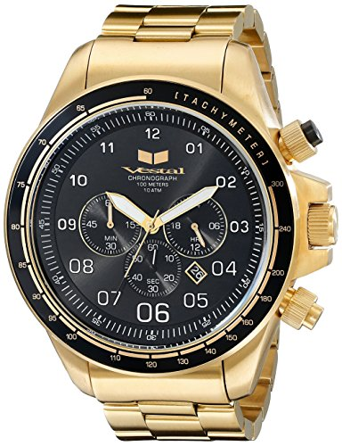 Vestal-Mens-ZR3033-ZR3-Analog-Display-Quartz-Gold-Watch