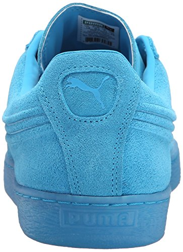 Puma Suede rilievo ghiacciato Fluo Fashion Sneakers Atomic Blue