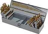 115pc Titanium Drill Bit Set w/Metal Index Case Fractional Number Letter Steel115pc Titanium Drill Bit Set w/Metal Index Case Fractional Number Letter Steel