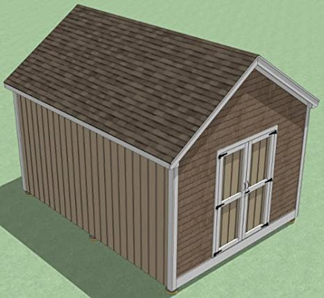 Buy 12x16 Shed Plans How To Build Guide Step By Step