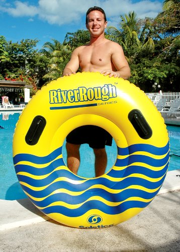 12 NEW Swimline 17035ST Swimming Pool River Rough 48'' Heavy Duty Floating Tubes by Swimline (Image #2)