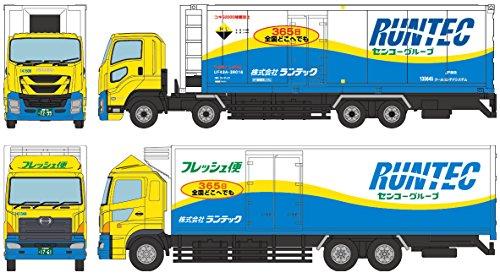 ザ・トラックコレクション トラコレ ランテック大型トラックセット ジオラマ用品 (メーカー初回受注限定生産)