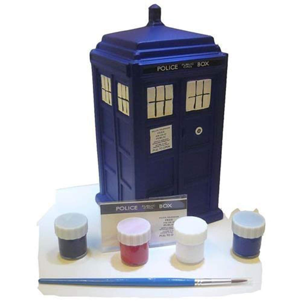 Doctor Who Paint Your Own Ceramic Bank: TARDIS   B00ED3W5XA