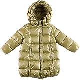 Oceankids Little Girl's Green Zip Closure Hooded Puffer Bubble Down Coat 3-4 Years