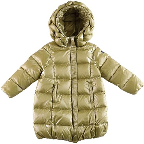 Oceankids Little Girl's Green Zip Closure Hooded Puffer Bubble Down Coat 3-4 Years by OCEANKIDS