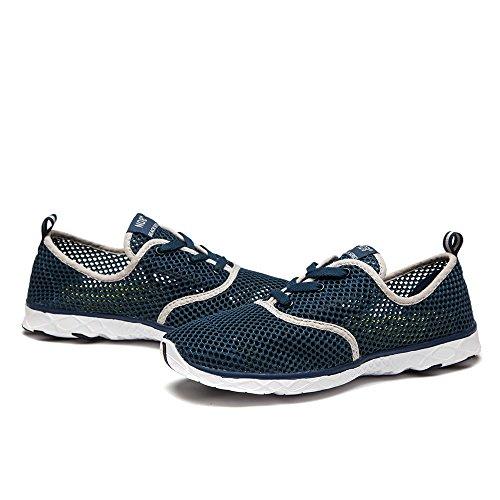 Mesh Herren Damen Wasser Unisex Schuhe Schnell NDB Blue Dark Aqua Trocknender Dunkelblau qEUtdqx