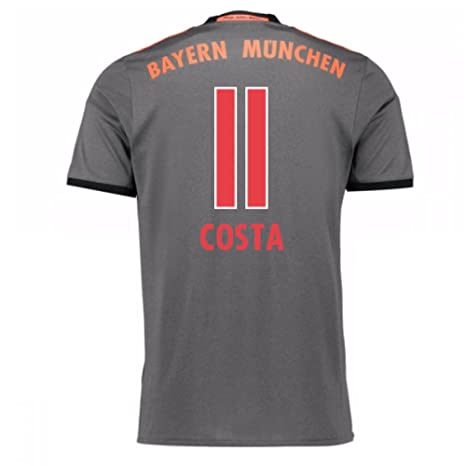 2016-17 Bayern Munich Away Shirt (Costa 11) - Kids: Amazon.es ...