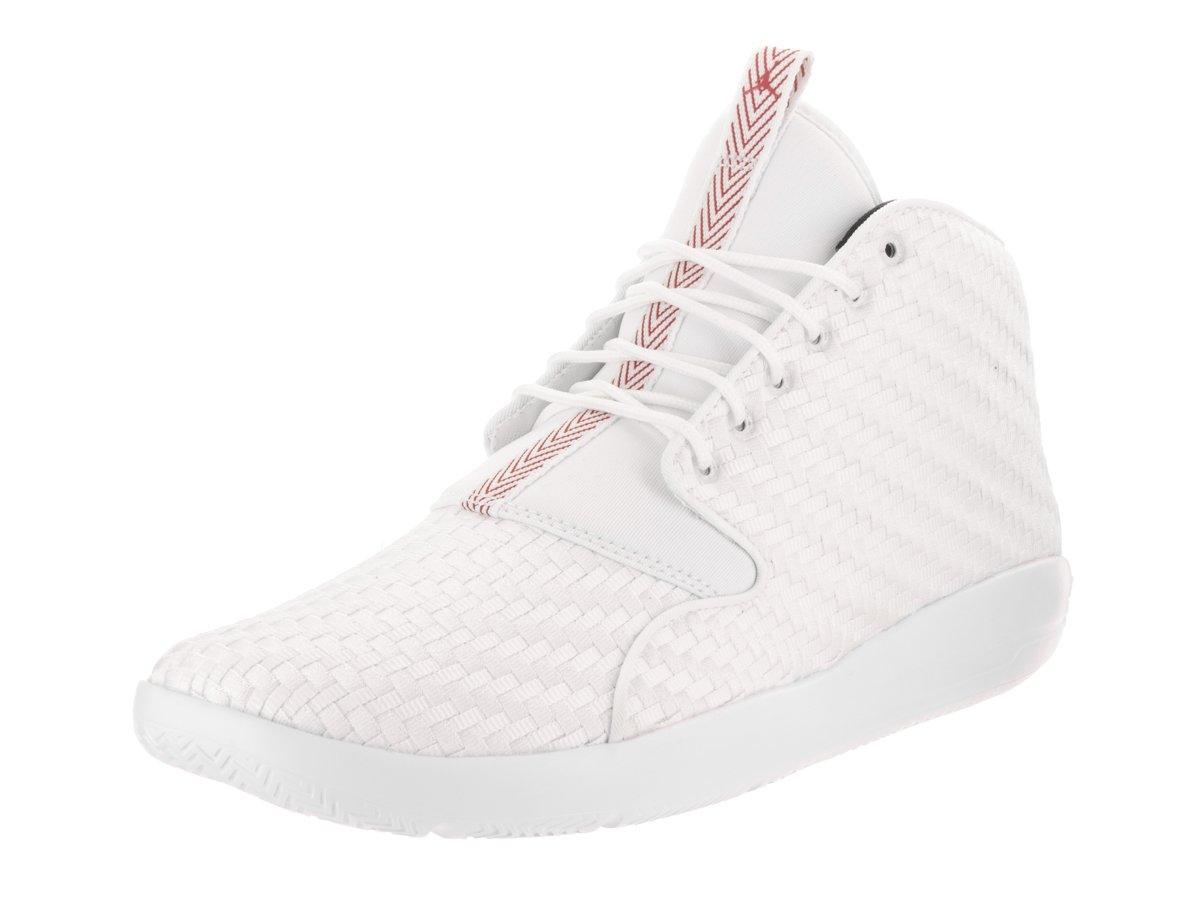 Jordan Nike Men's Eclipse Chukka Basketball Shoe B00DX7RPDW 13 D(M) US|White/Gym Red Black