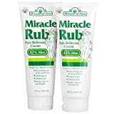 Best Cream For Relieving - Miracle of Aloe, Miracle Rub Pain Relieving Cream Review