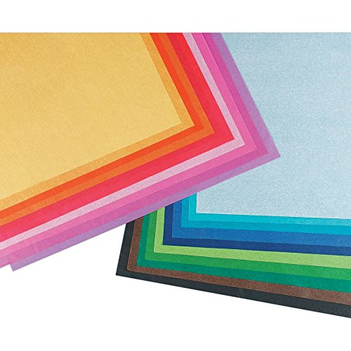 Pacon Spectra Art Tissue, 10 lbs, 20 x 30, 20 Assorted Color