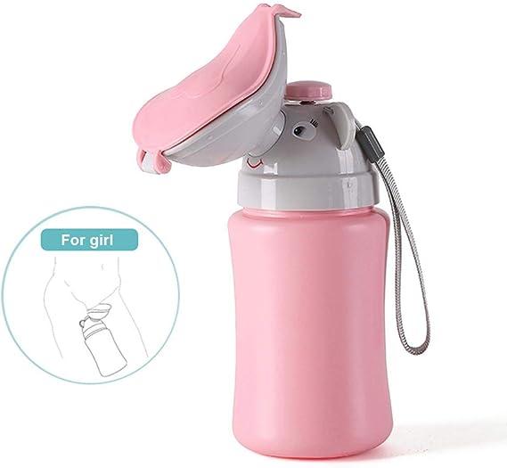 Wallfire Tragbare Wiederverwendbare Baby Kind Potty Urinal Notfall Toilette Training Pee f/ür Camping Auto Reise f/ür Jungen /& M/ädchen