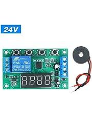 Rantoloys Módulo de detección de corriente alterna de 220V Sensor de corriente Transductor de corriente eléctrica Detección corriente Placa circuito impreso Relé ON/OFF Módulo de control Transductor