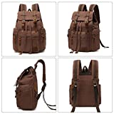 High Capacity Canvas Vintage Backpack - for